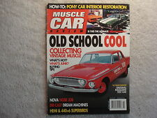 Muscle Car Review 2007 October 62 Ramcharger, 409 Chevrolet's, Pontiac, Shelby