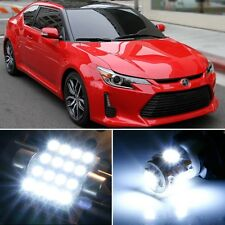 9 x Premium Xenon White LED Lights Interior Package Kit for Scion tC 2014-2016