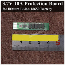 10A 1S 3.7V Li-ion Lithium LiPo 18650 Battery Charger BMS Protection PCB Board