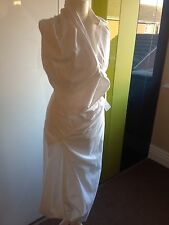 Vivienne Westwood Long Cotton Wrap Dress Size 8