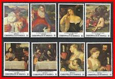 DOMINICA 1993 LOUVRE MUSEUM MNH TITIAN PAINTINGS (Please,don't watch - just buy)