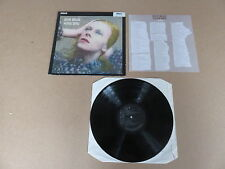 DAVID BOWIE Hunky Dory LP RARE ORIGINAL RCA BLACK LABEL UK 5E PRESSING & INSERT
