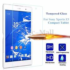 9H+ Premium Tempered Glass Screen Protector For Sony Xperia Z3 Compact Tablet
