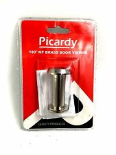 PICARDY 180 DEGREE CHROME NICKEL PLATE DOOR VIEWER