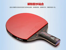 TIMO BOLL 9.8 Hybird Wood table tennis Racket /Table tennis paddle  Short Handle