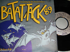 "7"" - The Crime Fighters / Bat Attack 89 & Bat Jazz Mix - MINT # 2903"