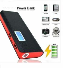 BLACK  300000MAH POWER BANK USB EXTERNAL BATTERY PACK CHARGER FOR IPHONE IPAD