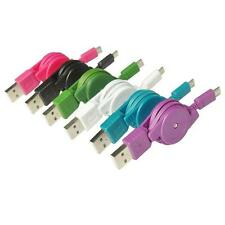 80cm Retractable Micro USB 2.0 Cable Data Sync Charger Cord Fr Android Fabulous!