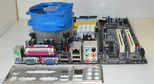 FOXCONN RC4107MA-8KRS2H S.775 MOTHERBOARD  I/O SHIELD & COOLERC INC. WARRANTY