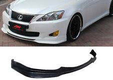 09-10 LEXUS IS250 IS350 ADD-ON F-SPORT POLY URETHANE FRONT BUMPER LIP BODY KIT
