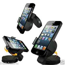360 ° Parabrezza In Kit Auto Mount Holder CRADLE PER APPLE IPHONE 6S 6S Plus 6 S +