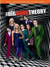 The Big Bang Theory:The Complete Sixth Season (DVD 2013 3-Disc Set) New FREE Shi