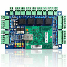 TCP/IP Network Entry Attendance Access Control Board Panel For 4 Door 4 Reader