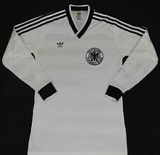 1984-1986 WEST GERMANY ADIDAS HOME FOOTBALL SHIRT (SIZE M)