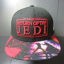 NWOT STAR WARS JEDI VISOR NEW ERA 7 3/8 FITTED BLACK RARE HAT Cap EMPIRE ROGUE