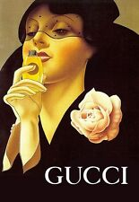 Art Poster Haute Couture  Gucci Art Deco  Print