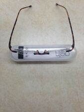 Scojo Gels Rimless Reading Glasses Color Tortoise Strength 1.50
