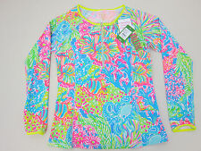 Lilly Pulitzer Sydney Sunguard - Womens Large - Lover's Coral - NWT