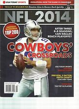 USA TODAY SPORTS  NFL 2014 ( HOW THE GAME IS CHANGING * COW BOYS' CROSSROADS )