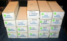 1960-69 TOPPS BASEBALL CARD LOT (10) *FROM 10,000 CARD SET BUILDER LOT* EX-NRMT