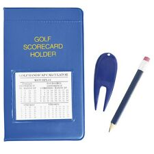 New Golf Scorecard Holder, Pencil + Pitchmark Repairer
