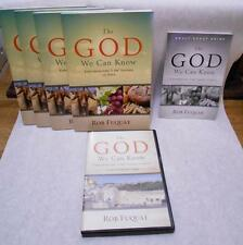 The God We Can Know Rob Fuquay Bible Study Set 1 DVD 4 Books 1 manual 2014 I Am
