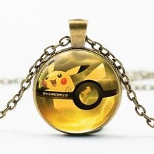Pokemon Pocket Monster Pikachu Retro Pocket Jewelry Necklace Anime Collection