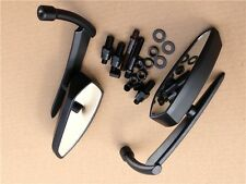 Black Blade Mirrors For Kawasaki Vulcan Honda Rebel Shadow Yamaha R1 R6 Cruiser