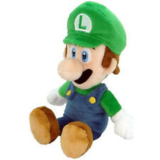 "Official Super Mario Bros Luigi Green Plush Soft Toy - 7.5"" Sanei Japan Import"