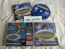 Tony Hawks Skateboarding PS1 (COMPLETE) hawk black label Sony PlayStation