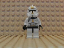 Lego - Star Wars Minifig - Clone Trooper Ep.3 Yellow - Good Condition (SW128)