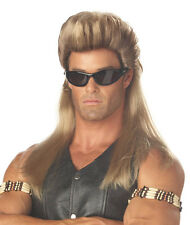 Adult Dog The BOUNTY HUNTER MULLET MENS Costume WIG
