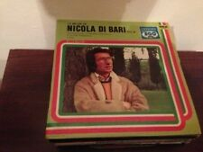 "NICOLA DI BARI - LO MEJOR 12"" LP SPAIN - SUNG IN SPANISH"