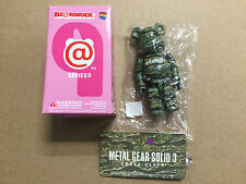 "Medicom Bearbrick Series 9 SF ""Metal Gear Solid 3"" Be@rbrick"