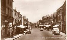 Northbrook Street Newbury unused RP old pc  1940 Valentines