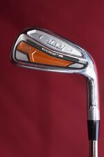"Cobra Amp Forged 7 iron Dynamic Gold X100 tour stiff steel +.5"" s/2f demo ex"