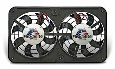 "FLEX-A-LITE 410 - Dual 12 1/8"" Lo-Profile S-Blade elec fan w/Variable Speed Cont"