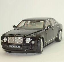 Rastar Klassiker Bentley Mulsanne Limousine in schwarz lackiert  OVP, 1:18, 004