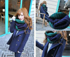 Fashion Lady Winter Warm Infinity Cable Knit Cowl Neck Long Women Scarf Shawl 39