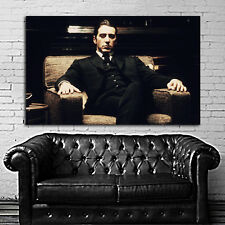 Poster Mural Movie Godfather Mob Gangster 40x64 in (100x160 cm) Adhesive Vinyl