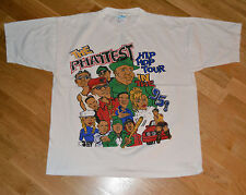 *1995 NOTORIOUS B.I.G + NAUGHTY by NATURE* vtg concert shirt (XL) Biggie Smalls