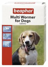 WORMING MULTI WORMER TABLETS FOR DOGS BEAPHAR / SHERLEY'S