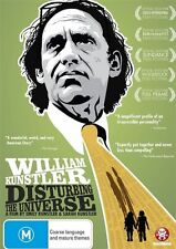 William Kunstler: Disturbing the Universe - Most Loved Lawyer in America DVD NEW
