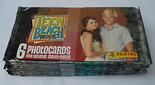 PANINI DISNEY TEEN BEACH MOVIE PHOTOCARDS LOT OF 24 PACKS NEW & SEALED