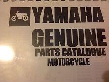 YAMAHA RD 400 G Daytona PARTS LIST MANUAL CATALOGUE 1979 paper bound copy