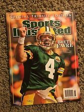SPORTS ILLUSTRATED SI 2008 GREEN BAY PACKERS BRETT FAVRE TRIBUTE EDITION