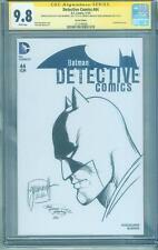 Batman Detective Comics 44 CGC SS 9.8 Tom Grummett Top 1 Original art sketch