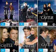 Castle Series : Complete Season 1 2 3 4 5 6 : NEW DVD