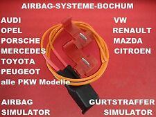 Airbag pretensores simulador Opel Signum Astra F G H resistencia