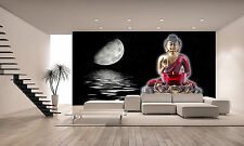 Buddha with a Moon Wall Mural Photo Wallpaper GIANT WALL DECOR PAPER POSTER